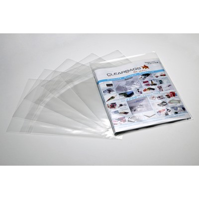 Laminated Crystal Clear Bags® (5 7/8