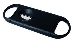 Custom Black V-Cut Cigar Cutter