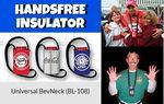 Custom Universal BevNeck Beverage Holder with Lanyard