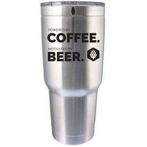 32 Oz. BOSS Stainless Travel Mug Double Wall Vacuum Insulated