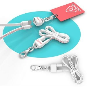 Lanyard 2-in-1 Lanyard and Micro USB Charging Cable