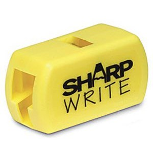 Sharpwrite, yellow, carpenter pencil sharpener