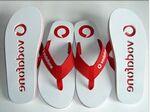 Custom Simple Flip Flops Slipper w/ Logo Strap