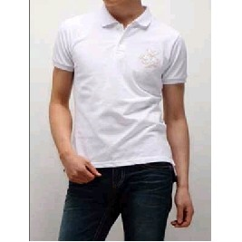 Rib Short Sleeve Pique Polo Shirt