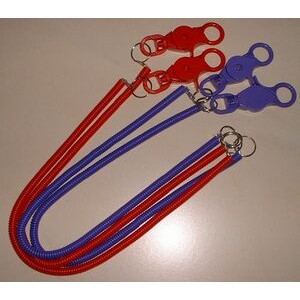 "Lobster Claw Bungee Cord Lanyard (12"")"