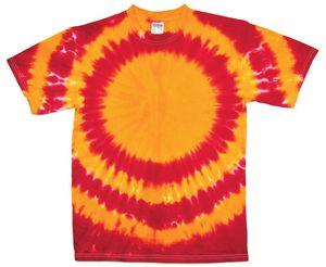Custom Gold/Red Team Sphere Short Sleeve T-Shirt