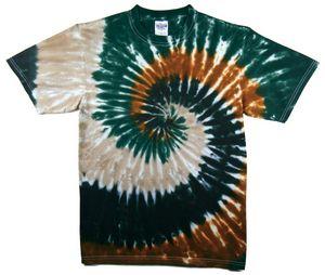 Custom Camo Spiral Short Sleeve T-Shirt