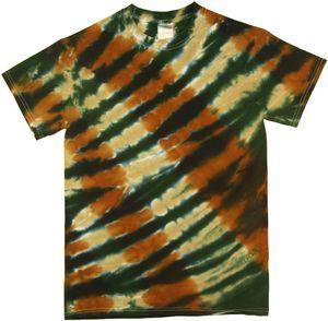 Custom Camo Diagonal Web Short Sleeve T-Shirt