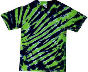 Custom Kelly/Black Tiger Stripe Short Sleeve T-Shirt