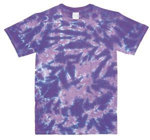 Custom Lavender/Purple Crinkle Short Sleeve T-Shirt