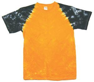 Custom Gold/Black Team Baseball Sleeve Short Sleeve T-Shirt