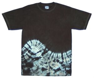 Custom Black Bottom Wave Short Sleeve T-Shirt