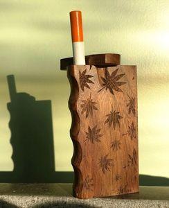 Custom Wooden Dugout w/bat