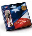 Custom Stars & Stripes 3-D Wind Sock W/Gift Box (40