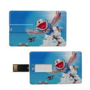 Flip-Out Credit Card USB Flash Drive (2.3 Mm Thick) 1 - 32 GB