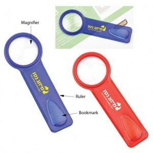 Magnifier w/ Ruler & Bookmark