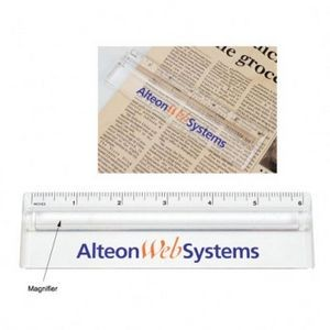 Clear Magnifier Ruler