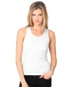 Custom Women's Organic Cotton Ribbed Tank Top