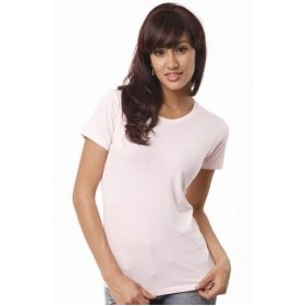 Ladies' Pima Short Sleeve Tee Shirt