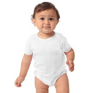 Organic Infant Interlock One Piece Romper