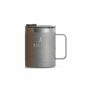RTIC 12oz Graphite Stainless Steel Ringed Coffee Mug