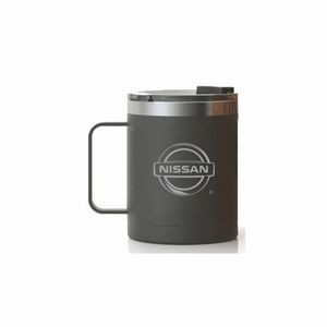 RTIC 12oz Black Stainless Steel Ringed Coffee Mug