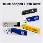 Custom Truck Flash Drive - 2 GB Memory