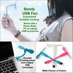 Custom Bendy USB Fan