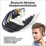 Custom Bluetooth Wireless Headphone/Earbuds