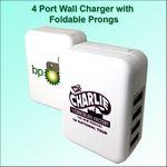 Custom 4 Port Wall Charger