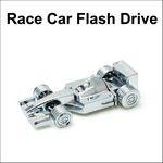 Custom Racecar Flash Drive - 8GB Memory