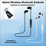 Custom Alpine Wireless Bluetooth Earbuds
