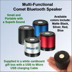 Custom Multi-Functional Comet Bluetooth Speaker