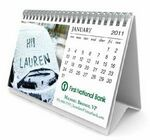 Custom Mini Desktop Personalized Image Calendar