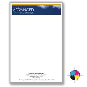 "5 1/2"" x 8 1/4"" Value Full-Color Notepads - 25 Sheets"