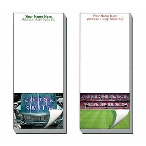 Image Personalized Full-Color Notepads - 25 Sheets