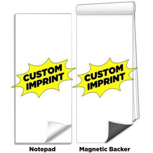 "3 1/2""x8"" Full-Color Magnetic Notepads - Custom Design"