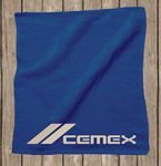 Custom Rally Velour Towel Hemmed 15