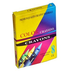 8 Color Crayons