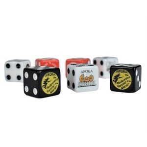 16mm Dice with 1 Custom Side