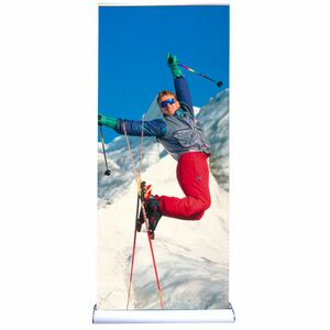 Deluxe Retractable Banner Stand w/ Base A (33)
