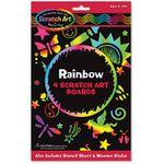 Custom Melissa & Doug Rainbow Scratch Art Boards