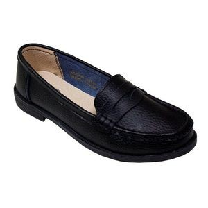 Women's Black Penny Loafer Moccasins