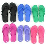 Custom Women's Flip Flops - Bright Colors