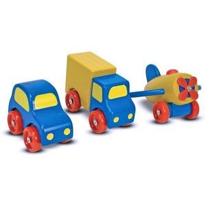Melissa & Doug First Vehicles Set (Case of 12)