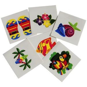 Luau Temporary Tattoos (Case of 15)