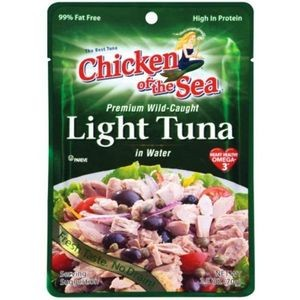 Chicken Of The Sea Light Tuna In Water - Pouch