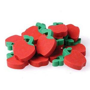 Apple Erasers - 144/Gross