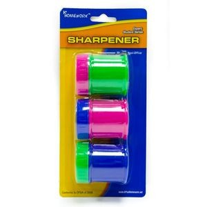 Pencil Sharpeners - large - 3 pack