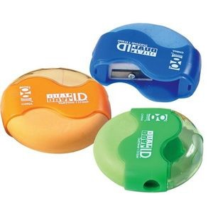 Dual ID Pencil Sharpener and Eraser